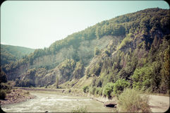 Montagnes de carte postale Photographie stock