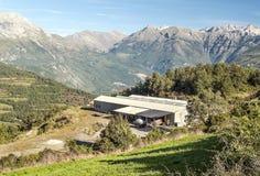 Montagnes de Castejon Images libres de droits