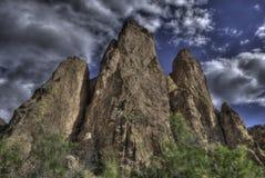 Montagnes de cathédrale de désert Image libre de droits