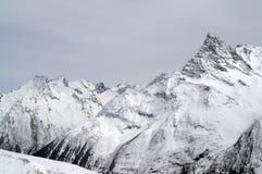 montagnes de Caucase Photographie stock