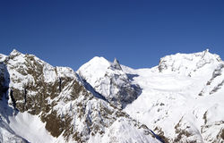 montagnes de Caucase Image libre de droits