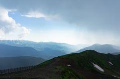 Montagnes de Caucase Image stock
