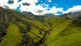 Montagnes de Caucase Carpathien, Ukraine, l'Europe photo libre de droits