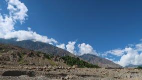 Montagnes de Chilas Image stock