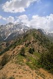 Montagnes de Chimgan, l'Ouzbékistan Images libres de droits