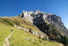 Montagnes de Chli Windgaellen images libres de droits