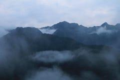 Montagnes de Cloudforest Equateur étroites Photos libres de droits