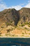 montagnes de Crète Grèce blanches Photographie stock