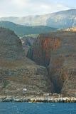 montagnes de Crète Grèce blanches Photo libre de droits