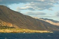 montagnes de Crète Grèce blanches Images libres de droits