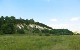 Montagnes de craie Photo stock