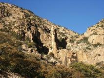 Montagnes de désert Image libre de droits