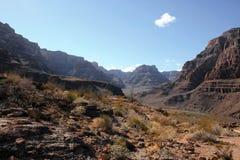 Montagnes de désert Images libres de droits