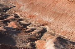 Montagnes de désert dans Kazakhstan Images stock