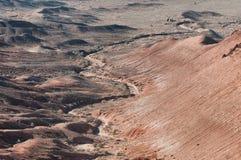 Montagnes de désert dans Kazakhstan Image libre de droits