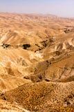 Montagnes de désert de Judean Photos libres de droits