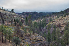 Montagnes de désert du Nouveau Mexique Photos stock