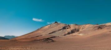 Montagnes de désert en Islande photographie stock libre de droits