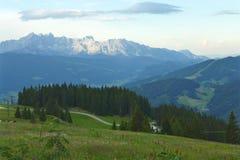 Montagnes de Dachstein Photo stock