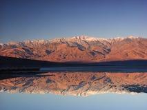 Montagnes de Death Valley images stock