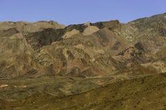 Montagnes de Death Valley Photographie stock libre de droits