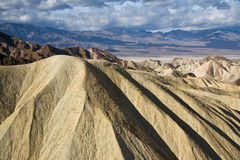 Montagnes de Death Valley Image stock