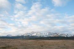 Montagnes de dent de scie Photographie stock