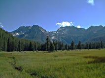 Montagnes de dent de scie de l'Idaho XII images stock
