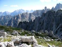 Montagnes de dolomite Photo libre de droits