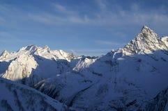 montagnes de dombaj de Caucase de belalakaya Photo libre de droits