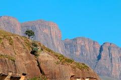 Montagnes de Drakensberg images libres de droits