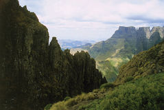 Montagnes de Drakensberg Image libre de droits