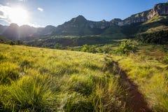 Montagnes de Drakensberg en Afrique du Sud image stock