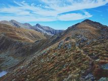 Montagnes de Fagaras photo stock