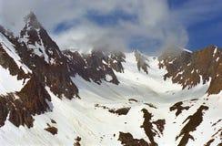 Montagnes de Fagaras Photographie stock libre de droits
