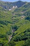 Montagnes de Fagaras, Roumanie Photographie stock