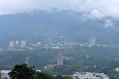 Montagnes de Genting, Malaisie - 2 novembre 2017 : Awana Skyway - monde Genting de stations de vacances photo libre de droits