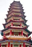 Montagnes de Genting, Malaisie - 2 novembre 2017 : La pagoda de neuf histoires en Chin Swee Temple Photo stock