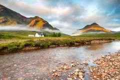 Montagnes de Glencoe Photo stock