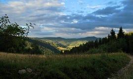 Montagnes de Gorce Photo libre de droits