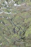 Montagnes de gredos de neige à avila Photographie stock