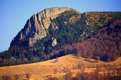 Montagnes de Gutai Photographie stock libre de droits