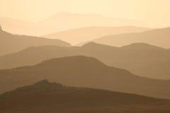 Montagnes de Harris Photographie stock libre de droits