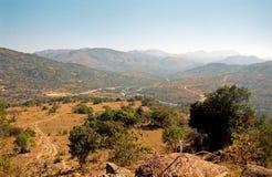 Montagnes de Hhenga, Souaziland photo libre de droits
