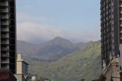 Montagnes de Honolulu Image libre de droits