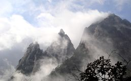 Montagnes de Huangshan Image stock