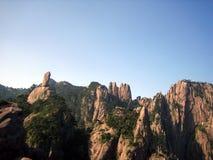 Montagnes de Huangshan Images stock