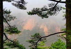 Montagnes de Huangshan, Chine Photo stock