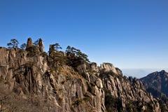 Montagnes de Huanshang de beauté Photographie stock libre de droits