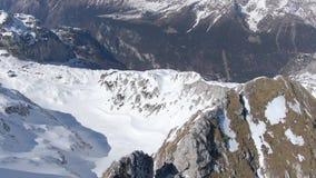 Montagnes de Julian Alps banque de vidéos
